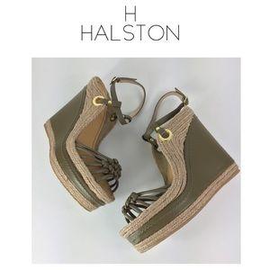 H by HALSTON Espadrille Wedges